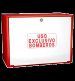 Cofre de superficie  IPF-41 rojo / Puerta ciega blanca