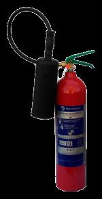 Extintor E-5 CO2 Amagnético
